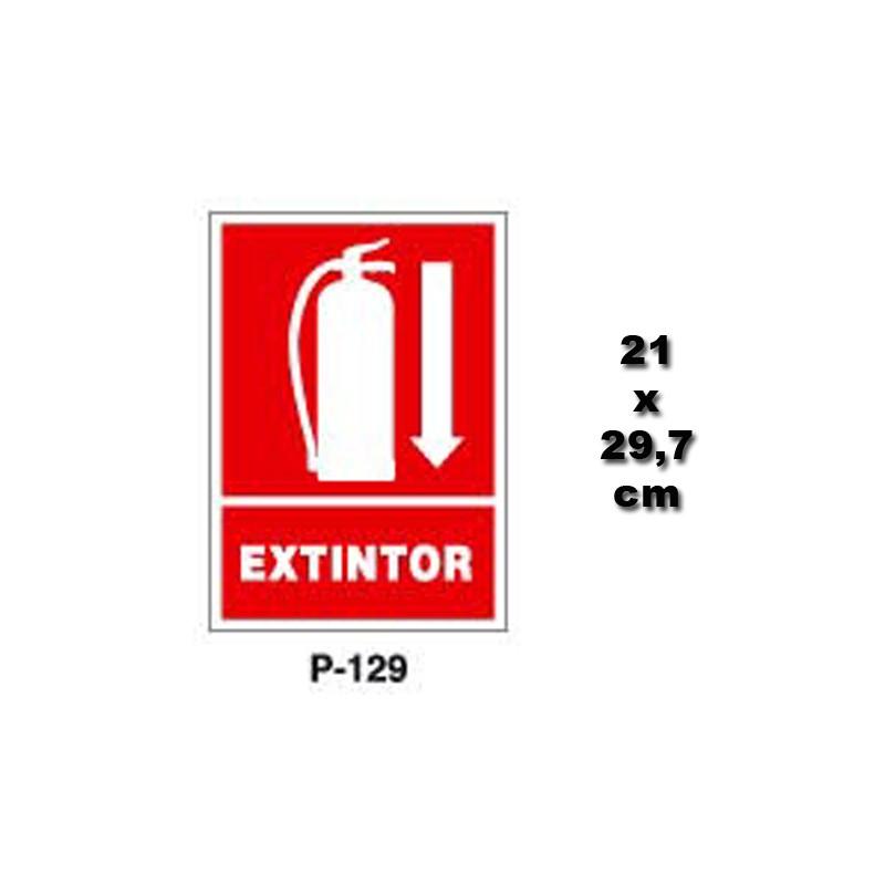 Precio extintor de polvo abc 6kg extintores online - Extintor para casa ...