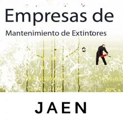 Extintores en Jaen Matenimiento y Retimbrado