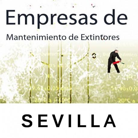 Extintores en Sevilla Mantenimiento y Retimbrado