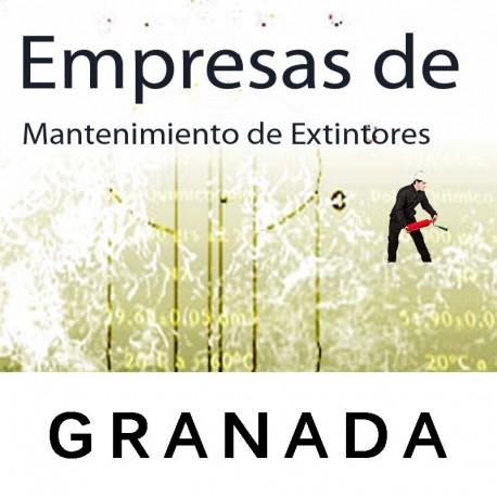 Extintores en Granada Mantenimiento y Retimbrado