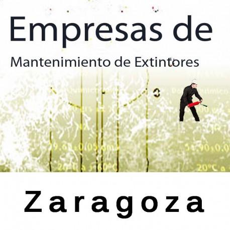 Extintores en Zaragoza Mantenimiento y Retimbrado