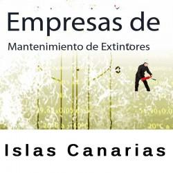 Extintores en Islas Canarias Mantenimiento y Retimbrado