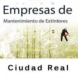 Extintores en Ciudad Real Mantenimiento y Retimbrado