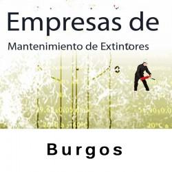 Extintores en Burgos Mantenimiento y Retimbrado