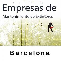 Extintores en Barcelona Mantenimiento y Retimbrado