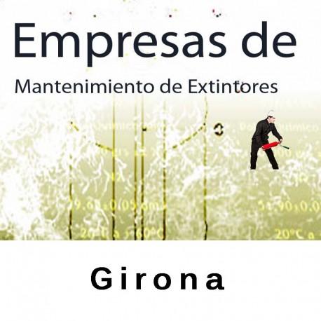 Extintores en Girona Mantenimiento y Retimbrado