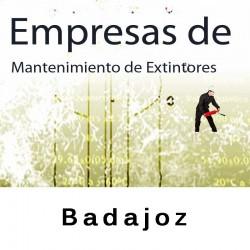 Extintores en Badajoz Mantenimiento y Retimbrado