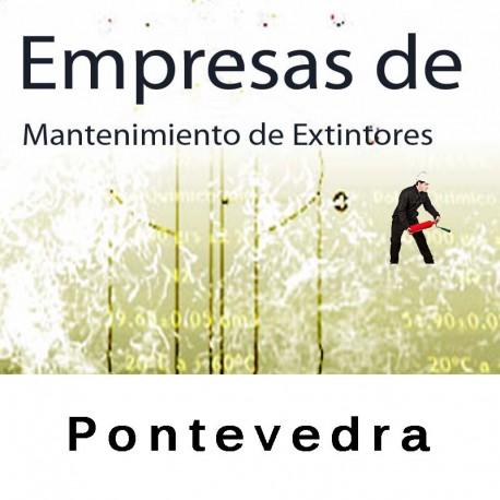 Extintores en Pontevedra Mantenimiento y Retimbrado