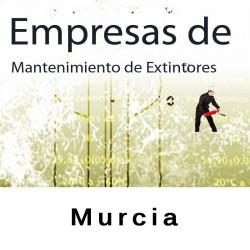 Extintores en Murcia Mantenimiento y Retimbrado
