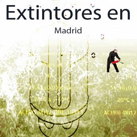 Extintores en Madrid Comprar al Mejor precio