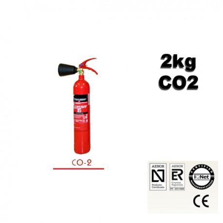 Extintor de CO2 2kg