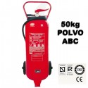 Extintor de Polvo ABC Movil 50kg