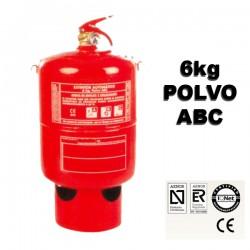Extintor de Polvo ABC Automatico 6kg