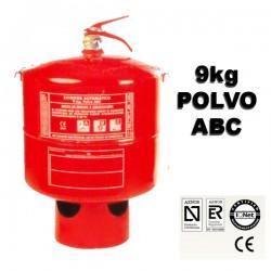 Extintor de Polvo ABC Automatico 9kg