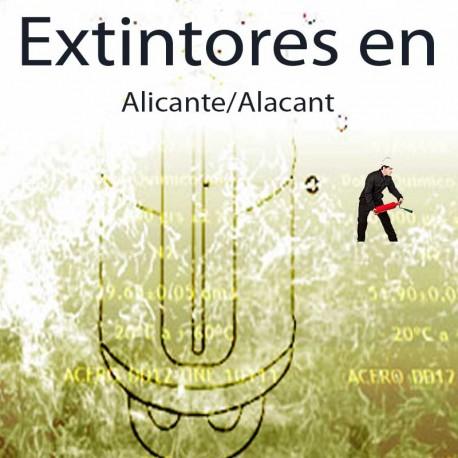 Extintores en Alicante Comprar al Mejor precio
