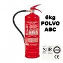 Precio Extintor de Polvo ABC 6Kg