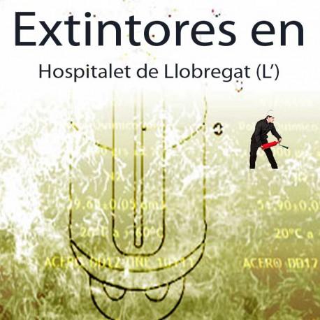 Extintores en Hospitalet de Llobregat Comprar al Mejor precio