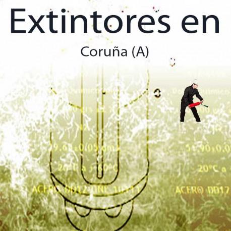 Extintores en La Coruña Comprar al Mejor precio