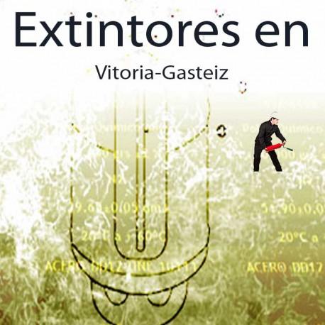 Extintores en Vitoria Gasteiz Comprar al Mejor precio