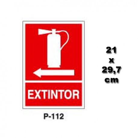 Señal de Extintor P112