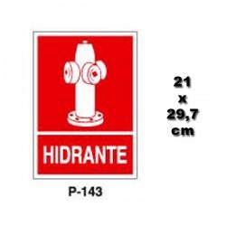 Señal de Hidrante