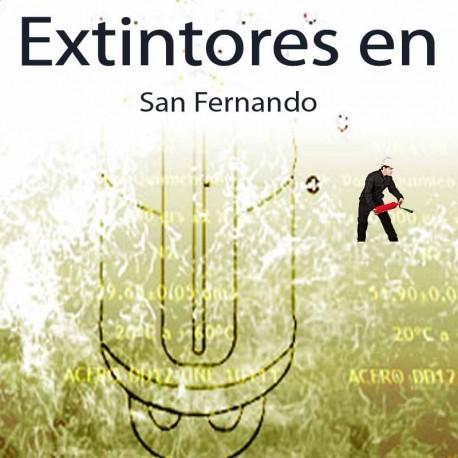 Extintores en San Fernando Comprar al Mejor precio