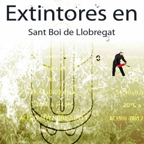 Extintores en Sant Boi de Llobregat Comprar al Mejor precio
