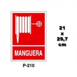 Señal de Manguera p210