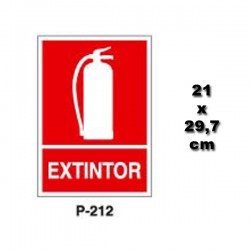 Señal de Extintor p212