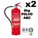 Comprar Extintor Incendio Empresa de Polvo ABC 6Kg Pack