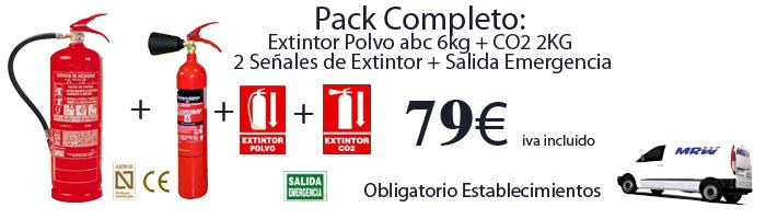 pack empresa extintores