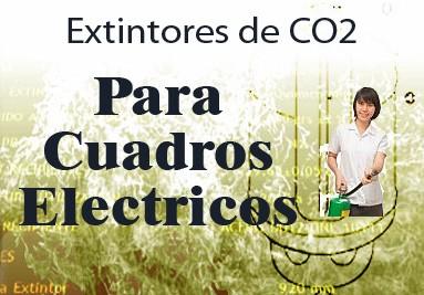 Extintor de CO2 para Cuadros Electricos