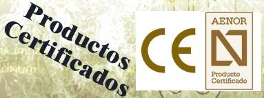 Extintores Certificados CE y Aenor